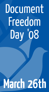 Document Freedom Day logo